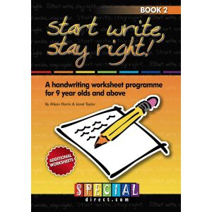 Start Write Stay Right Workbooks - Ages 9+