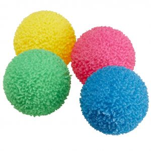 Coral Flashing Balls - Set