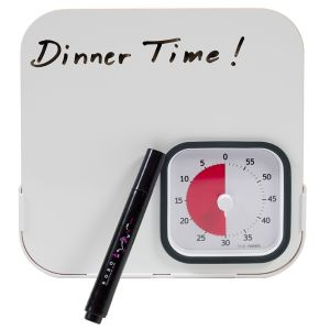 Time Timer and Dry Erase Board