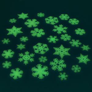 Glow in the Dark Snowflakes