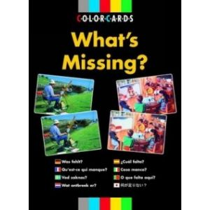What's Missing? Color Cards