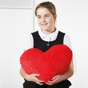 Weighted Heart Cushion
