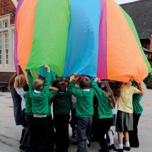Fluorescent Parachute