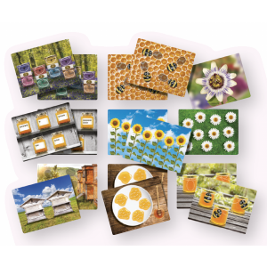 Honey Bee Number Cards