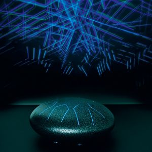Interactive Light Temple Drum