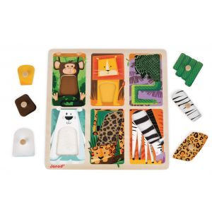 Zoo Animals Tactile Puzzle