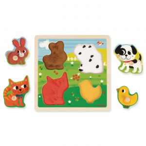 My First Animals Tactile Puzzle
