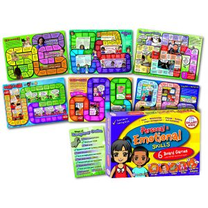 Personal and emotional skills board games