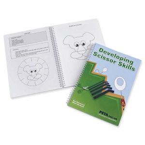 Developing Scissor Skills Book