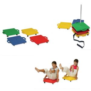 Rhombic Scooters & Stacker