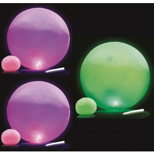 Glow in the Dark Balloon Ball - Set of 3