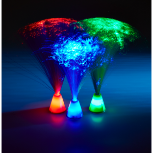 Mini Fibre Optic - LED Mushroom set