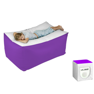 Vibro-acoustic Body Pillow including Sound System