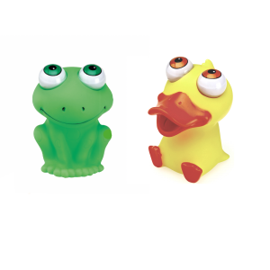 Squeezy Pop-Eyes Frog & Duck