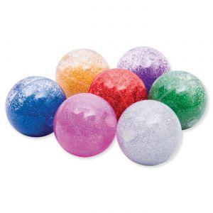 Sensory Rainbow Glitter Balls a