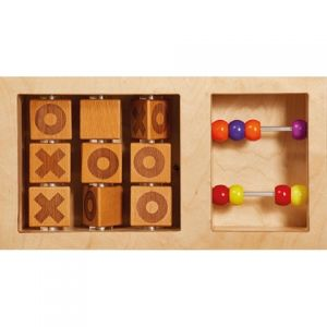 Noughts and Crosses Abacus Activity Board