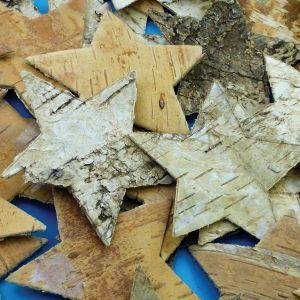Natural Bark Stars