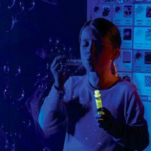 UV Touchable Bubbles