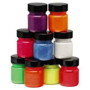 UV Fluorescent Paint Pots