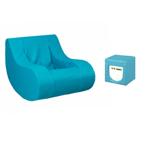 Vibro-acoustic Therapy Rocker, Amplifier and Speaker Seat