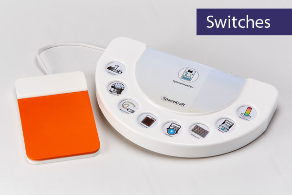 Sensory Room Controls - Switches