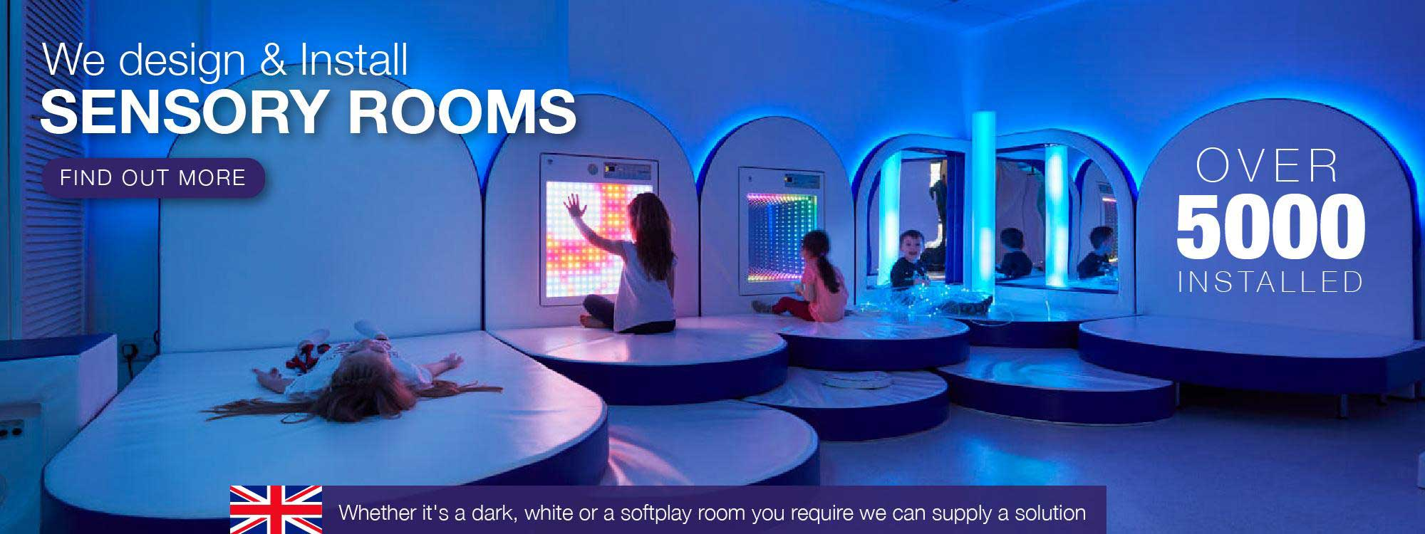 We design and install Sensory Rooms